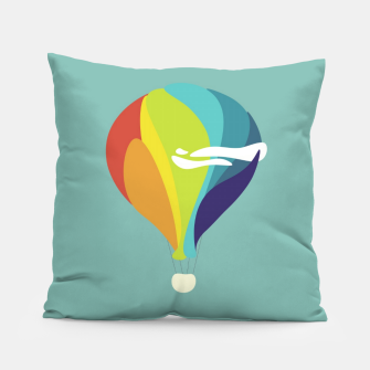 Thumbnail image of Freedom in the sky Pillow, Live Heroes