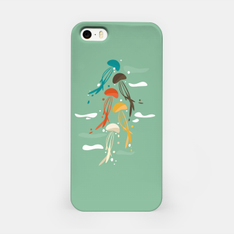 Miniature de image de Jellyfish ascend the sky iPhone Case, Live Heroes