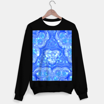 Thumbnail image of Blue Kaleidoscope Sweatshirt regulär, Live Heroes