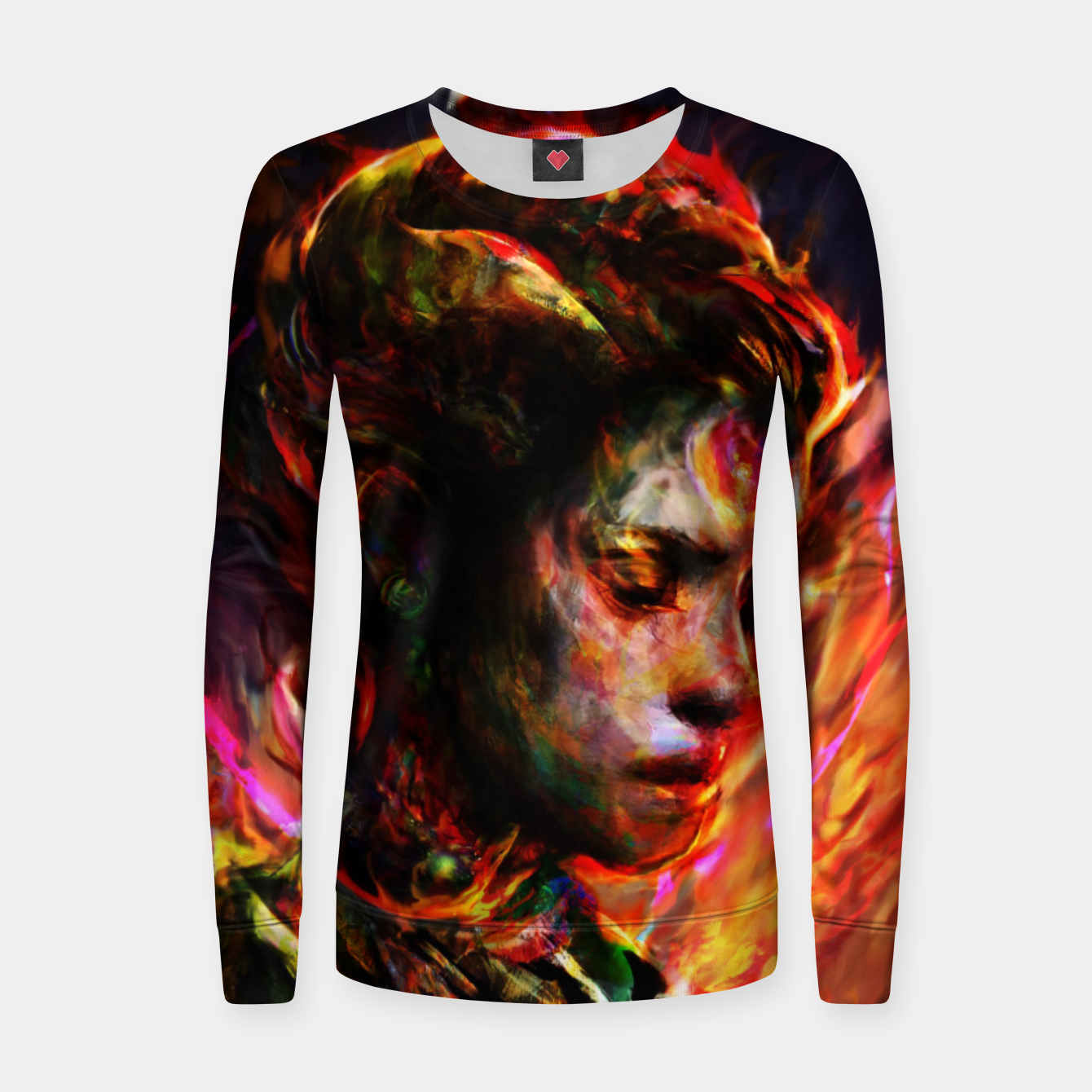 Image of last lady Women sweater - Live Heroes