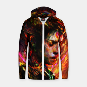 Thumbnail image of last lady Zip up hoodie, Live Heroes