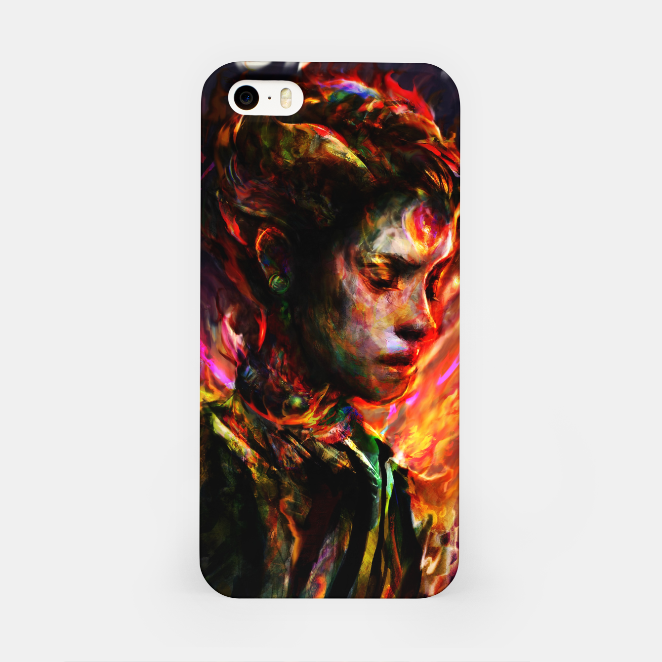 Image of last lady iPhone Case - Live Heroes