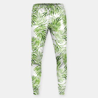 Miniaturka Green palm leaves Sweatpants, Live Heroes