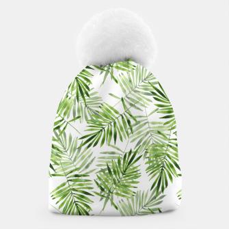 Miniaturka Green palm leaves Beanie, Live Heroes