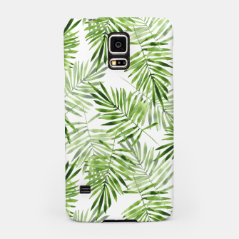 Miniaturka Green palm leaves Samsung Case, Live Heroes