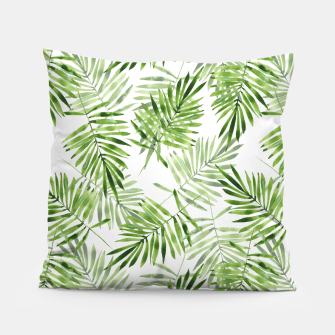 Miniaturka Green palm leaves Pillow, Live Heroes