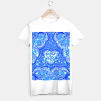 Thumbnail image of Blue Kaleidoscope T-Shirt regulär, Live Heroes