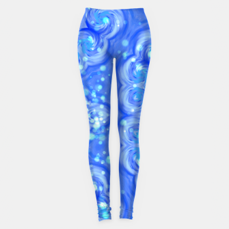 Thumbnail image of Blue Kaleidoscope Leggings, Live Heroes