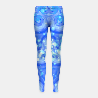 Thumbnail image of Blue Kaleidoscope Kinder-Leggins, Live Heroes