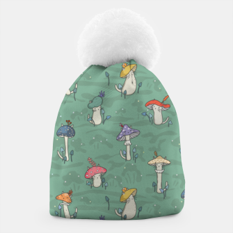 Miniatur Afternoon forest meeting of the mushroom cats Beanie, Live Heroes