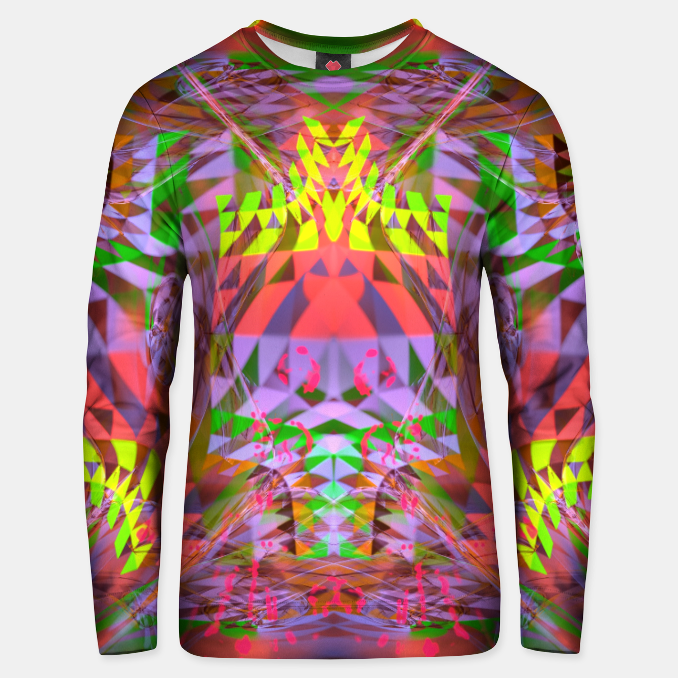 Image of Menstrual Mind Flame Unisex sweater - Live Heroes