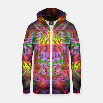Thumbnail image of Menstrual Mind Flame Zip up hoodie, Live Heroes