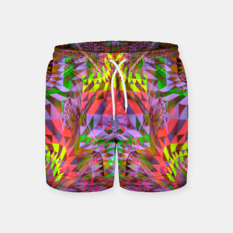 Thumbnail image of Menstrual Mind Flame Swim Shorts, Live Heroes