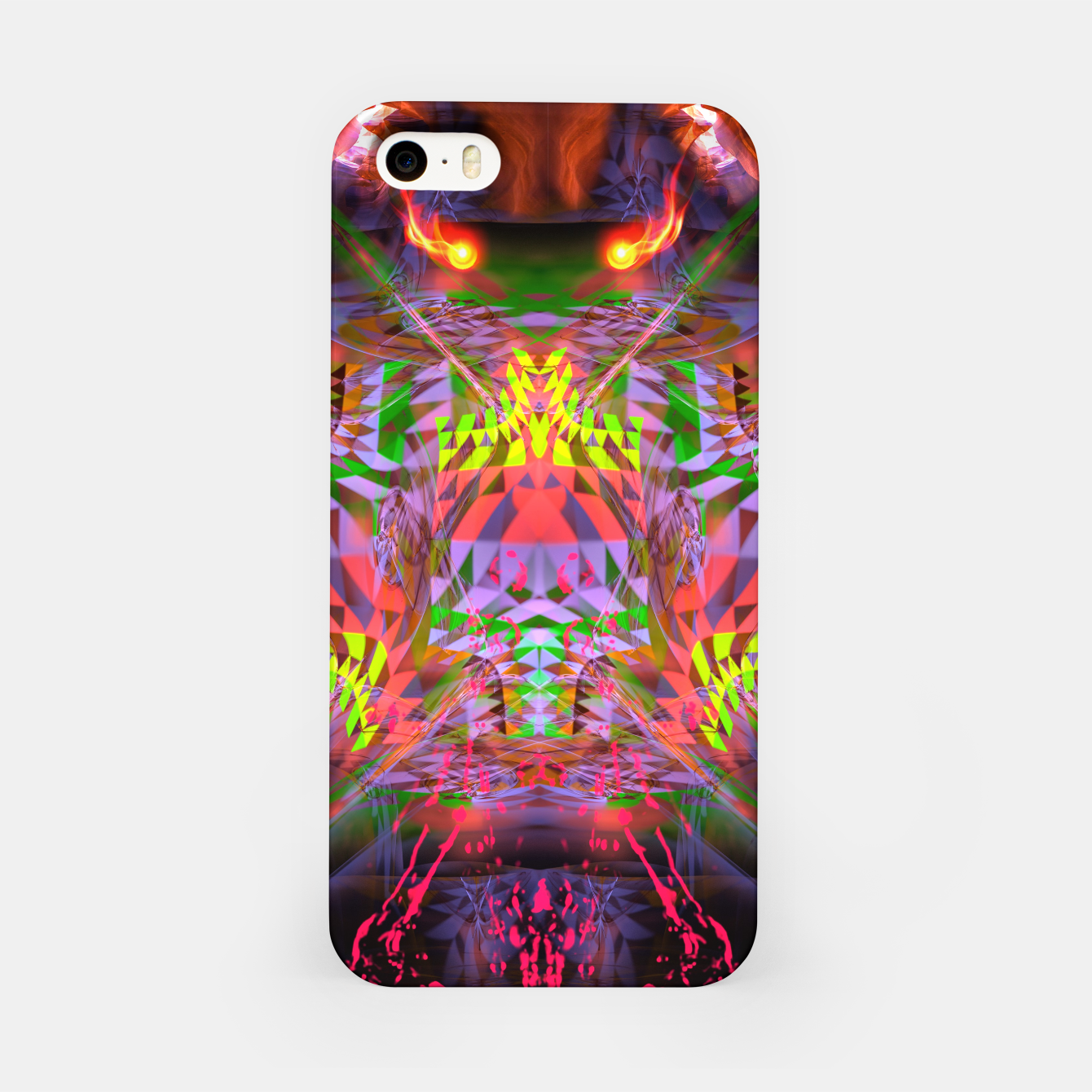 Image of Menstrual Mind Flame iPhone Case - Live Heroes
