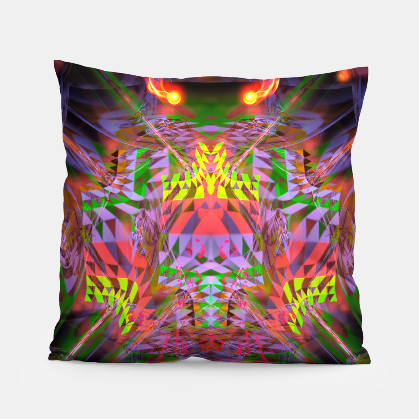 Image of Menstrual Mind Flame Pillow - Live Heroes