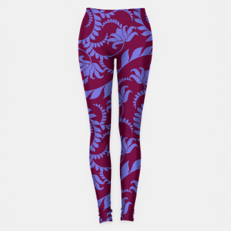 Thumbnail image of FLORAL DESIGN 157 Leggings, Live Heroes