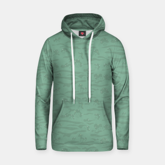 Miniaturka Flowing time at the green mossy marshes Hoodie, Live Heroes