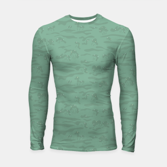 Miniaturka Flowing time at the green mossy marshes Longsleeve rashguard , Live Heroes