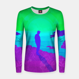 Thumbnail image of On The Rocks - Vibrant Variant Women sweater, Live Heroes