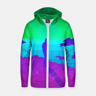 Thumbnail image of On The Rocks - Vibrant Variant Zip up hoodie, Live Heroes