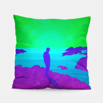 Thumbnail image of On The Rocks - Vibrant Variant Pillow, Live Heroes