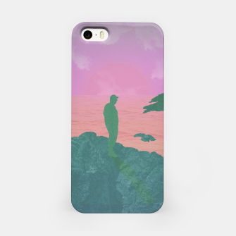 Thumbnail image of On The Rocks - Pastel Variant iPhone Case, Live Heroes