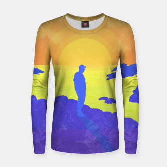 Thumbnail image of On The Rocks Women sweater, Live Heroes