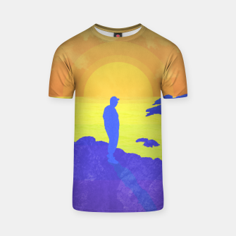 Thumbnail image of On The Rocks T-shirt, Live Heroes