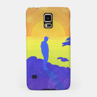 Thumbnail image of On The Rocks Samsung Case, Live Heroes