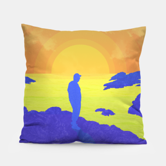 Thumbnail image of On The Rocks Pillow, Live Heroes