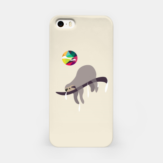 Miniatur Sleeping Beauty...Sloth iPhone Case, Live Heroes