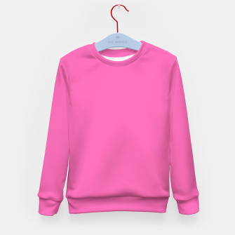 Miniatur color hotpink Kid's sweater, Live Heroes