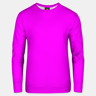 Thumbnail image of color fuchsia / magenta Unisex sweater, Live Heroes