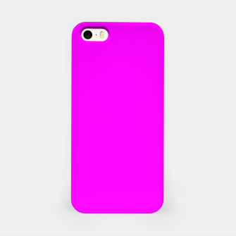 Thumbnail image of color fuchsia / magenta iPhone Case, Live Heroes