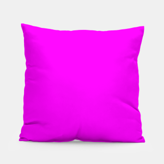 Thumbnail image of color fuchsia / magenta Pillow, Live Heroes