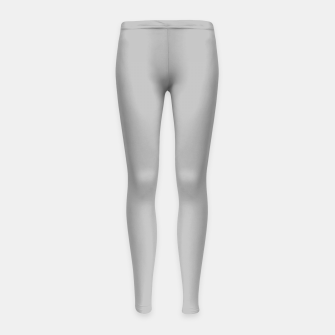 Thumbnail image of color silver Girl's leggings, Live Heroes