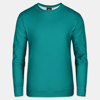 Miniatur color teal Unisex sweater, Live Heroes