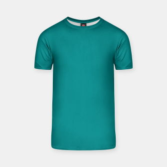 Miniatur color teal T-shirt, Live Heroes