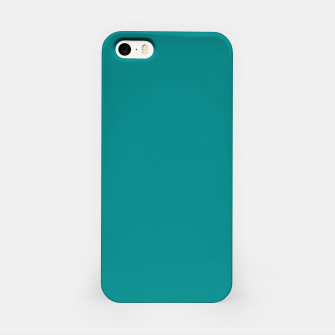 Miniatur color teal iPhone Case, Live Heroes