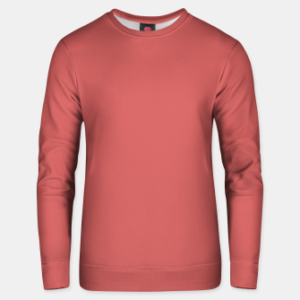 Miniaturka color indian red Unisex sweater, Live Heroes