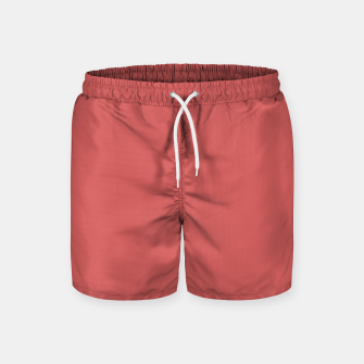 Miniaturka color indian red Swim Shorts, Live Heroes
