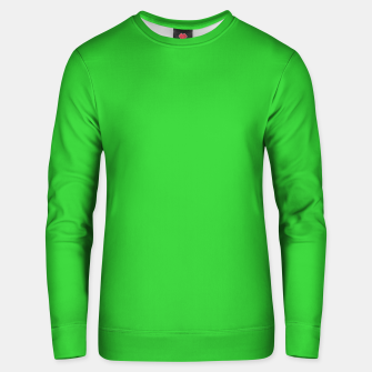 Miniatur color lime green Unisex sweater, Live Heroes