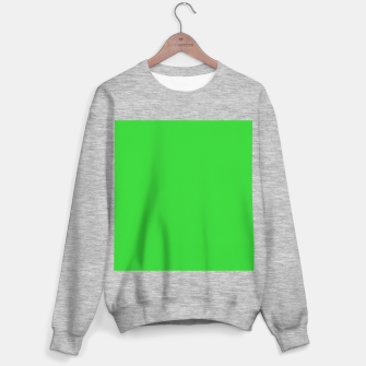 Miniatur color lime green Sweater regular, Live Heroes