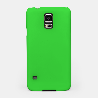 Miniatur color lime green Samsung Case, Live Heroes
