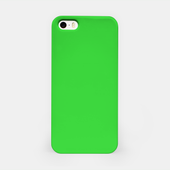 Miniatur color lime green iPhone Case, Live Heroes