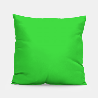 Miniatur color lime green Pillow, Live Heroes