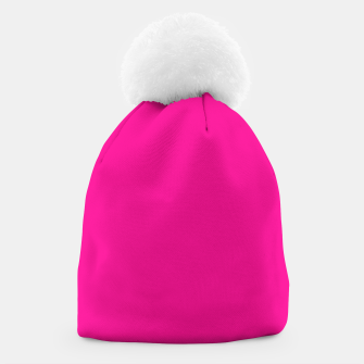 Miniatur color deep pink Beanie, Live Heroes