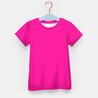 Miniatur color deep pink Kid's t-shirt, Live Heroes