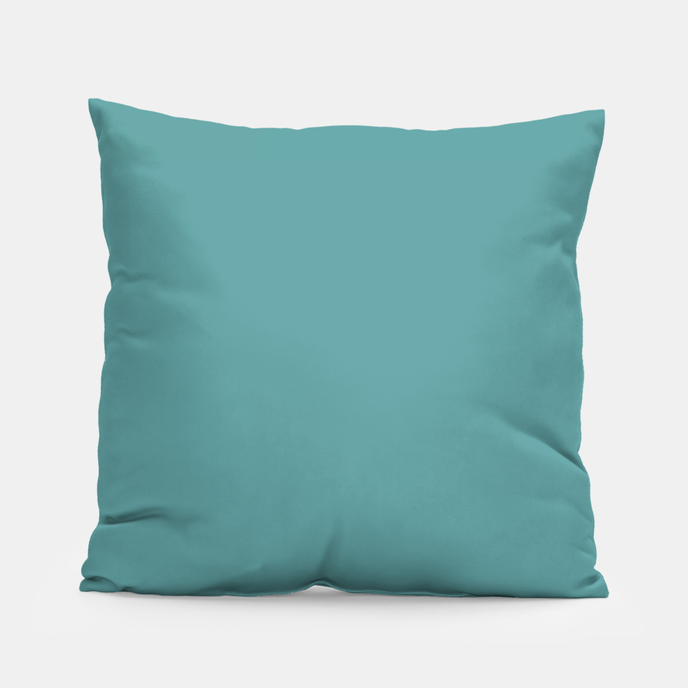 Image of color cadet blue Pillow - Live Heroes