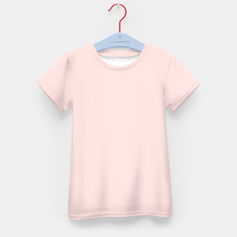 Thumbnail image of color misty rose Kid's t-shirt, Live Heroes